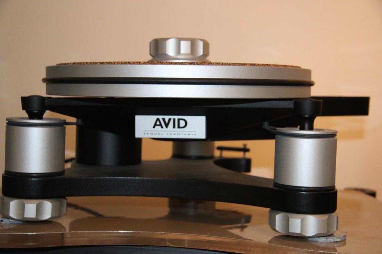 Avid Sequel SP turntable