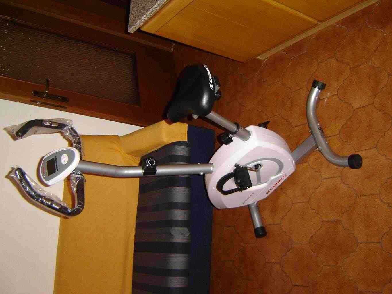 cyclette per pedalare