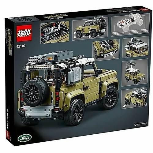 LEGO TECHNIC LAND ROVER DEFENDER 2573 PEZZI +11