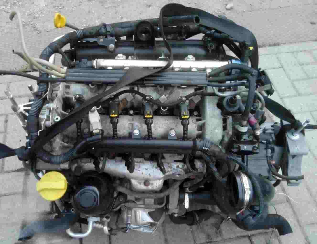 Motore Lancia Ypsilon 1300 multijet 199A2000