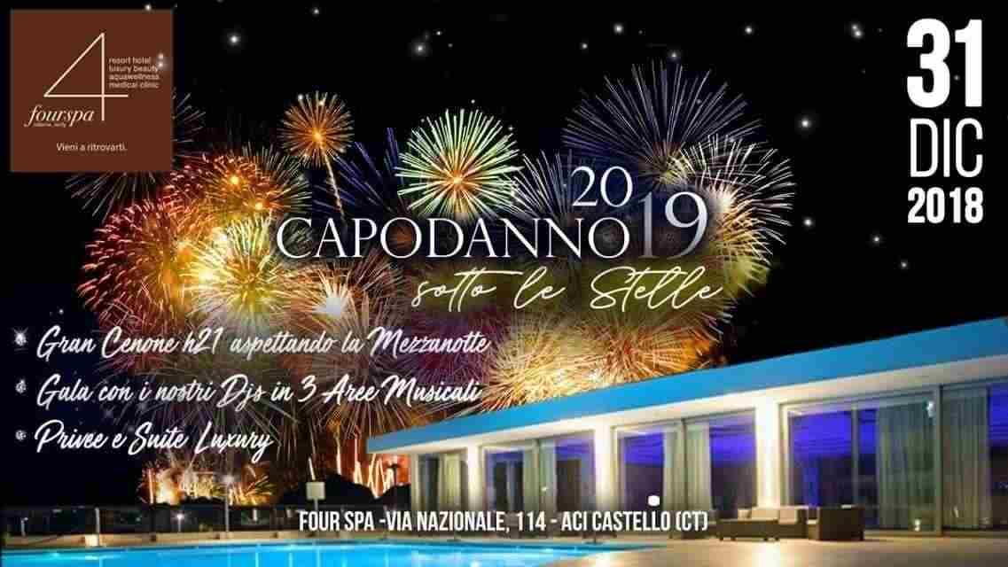 ✴ CAPODANNO Sotto le stelle 2019 ✴ Hotel [#4SPA] Catania ⭐⭐⭐⭐