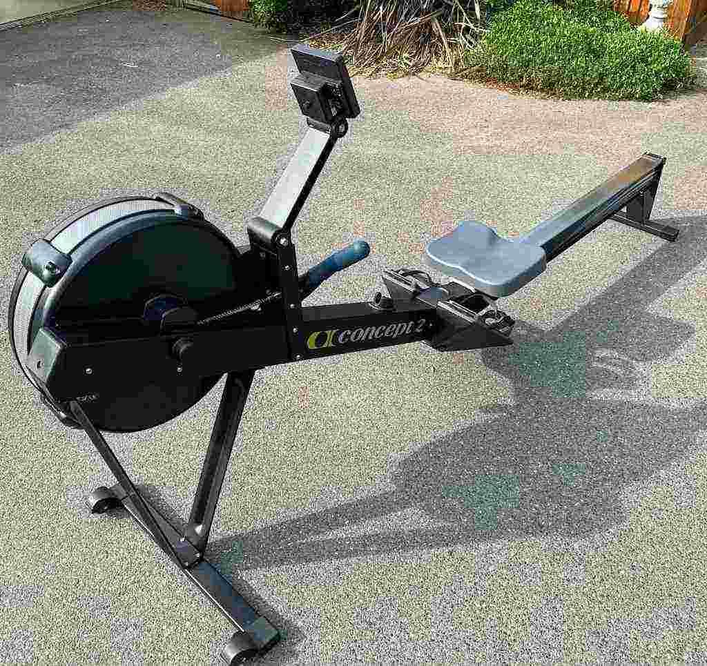 Ottime condizioni - Vendo Concept 2 Modello D Indoor Rower con monitor PM5 -Nero -Ottime condizioni