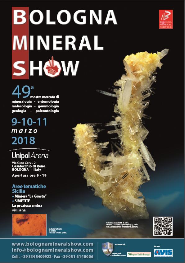 Bologna Mineral Show 2018