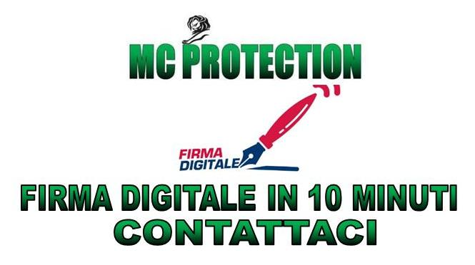 FIRMA DIGITALE – MC PROTECTION