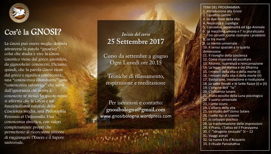 Conferenza: Introduzione alla Gnosi