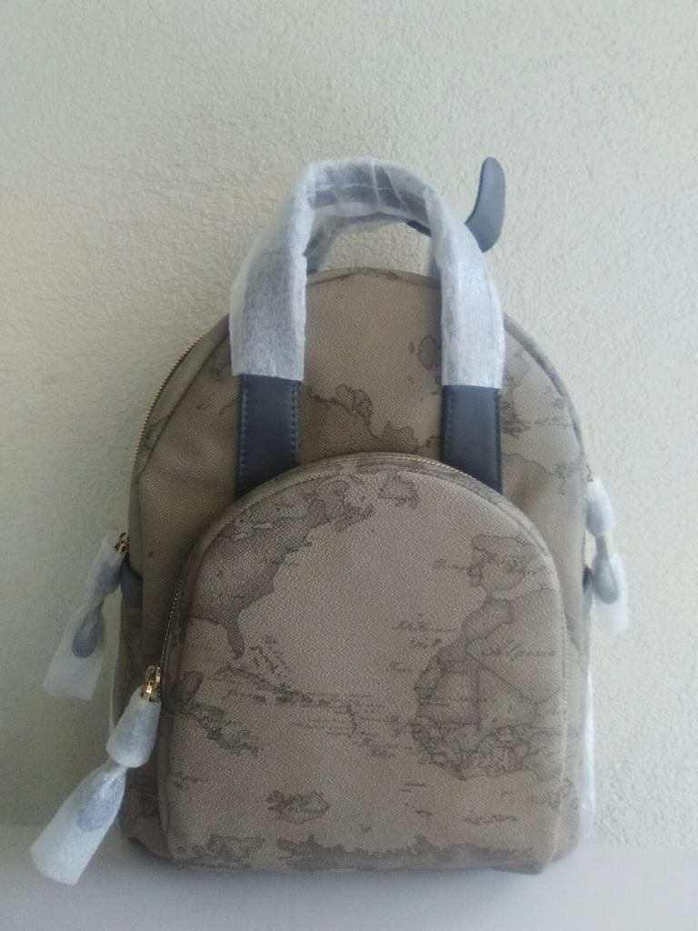 Alviero Martini zaino medium backpack geo tortora