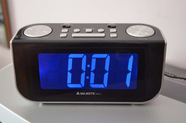 Radio Sveglia Majestic elettrica