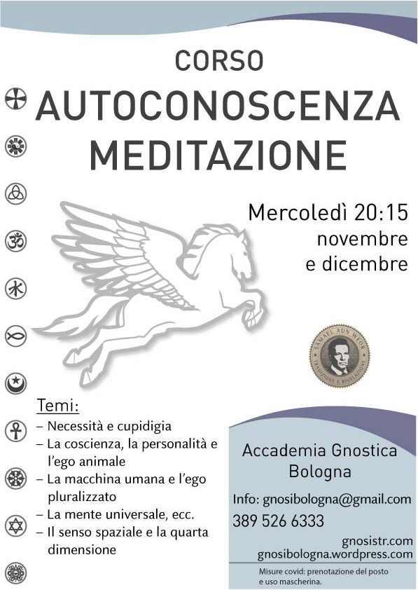 Corso di autoconoscenza e meditazione