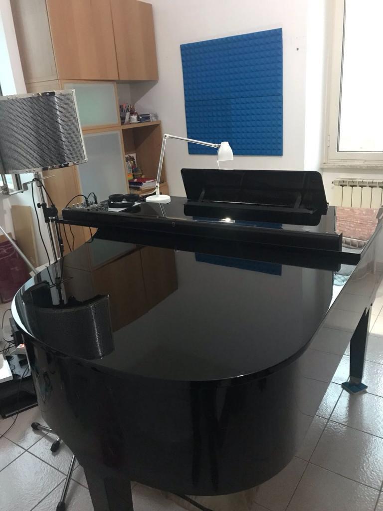 Pianoforte acustico Petrof 3/4 di coda