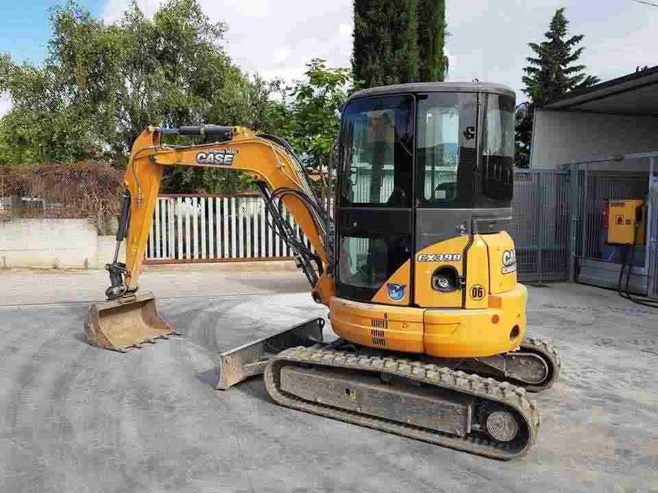 Mini escavatore CASE CX 39 B