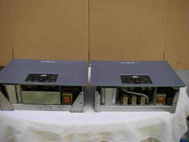 Coppia amplificatore valvolare Siemens 6 S ELA 2786