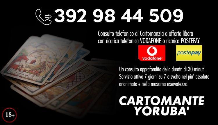 Studio di Cartomanzia Yorubà a Belluno - Consulti telefonici