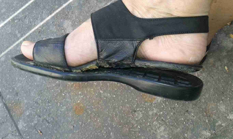 Sandali nr. 37 usati