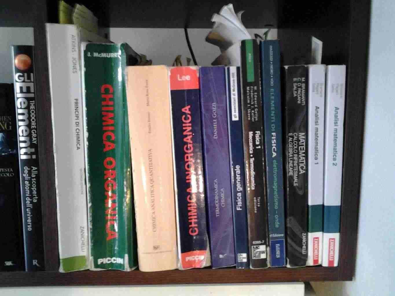 Laureato in Chimica offre ripetizioni di Matematica, Fisica e Chimica