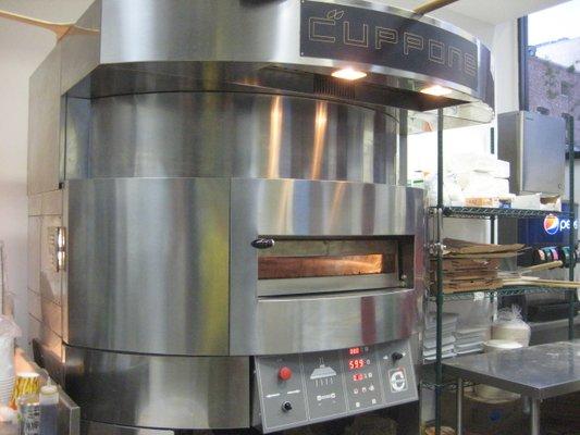 Forno Pizza Professionale Elettrico CUPPONE Giotto base girevole