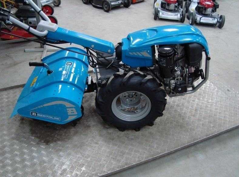Motozappa BERTOLINI 411 Motore diesel Lombardini da 10 CV