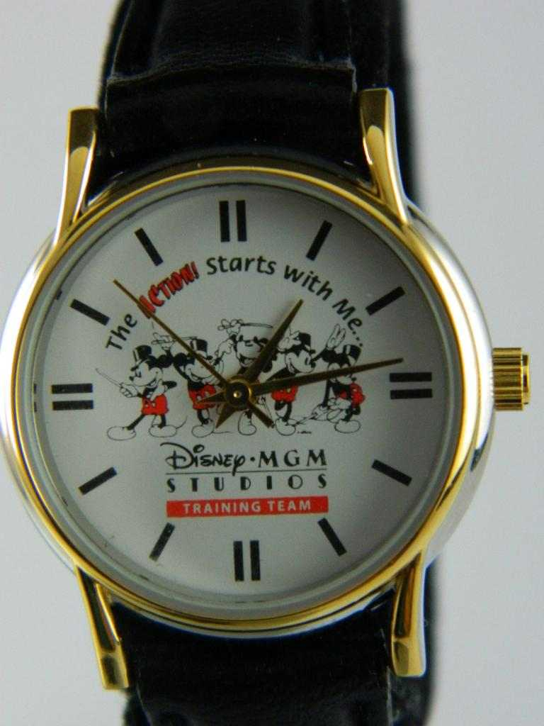 Orologio Disney MGM STUDIO TRAINING TEAM Donna