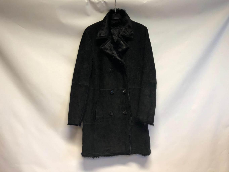 Cappotto nuovo in pelle scamosciata Hugo Boss