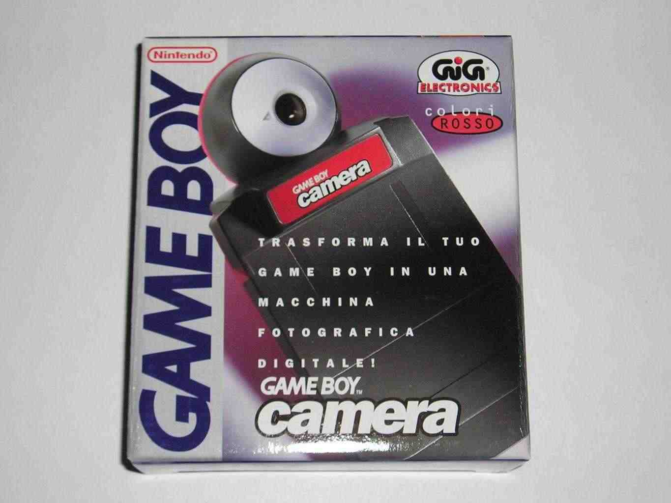 Game boy camera nintendo