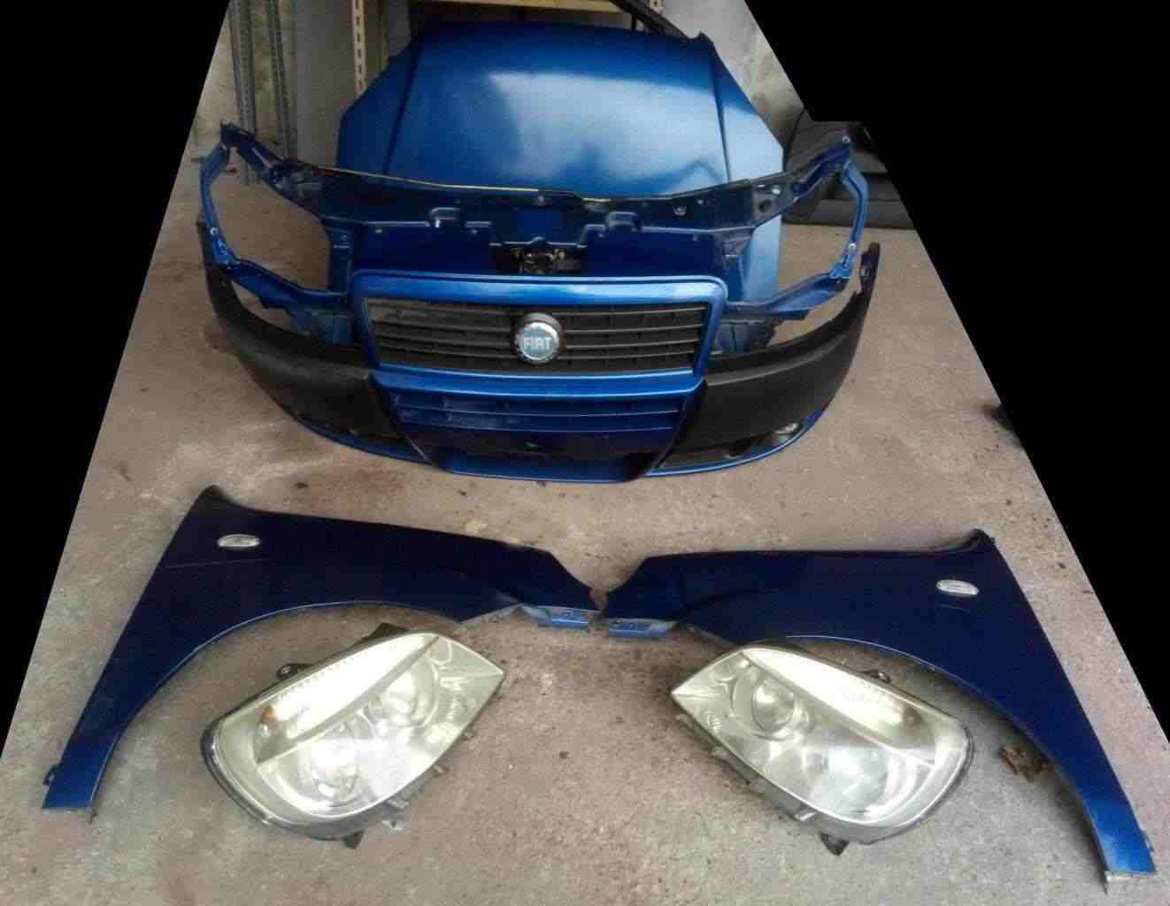 Musata frontale Fiat Doblò 1300 mjet anno 2007