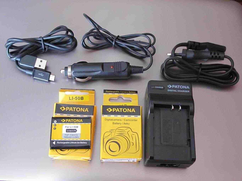 Patona Digital Battery Charger 4.2 V 1803