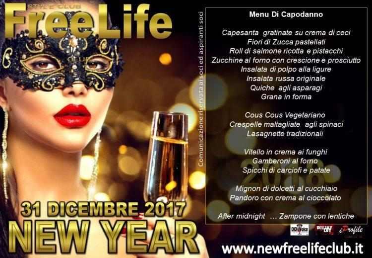 Capodanno al Free Life Style club Cusago.