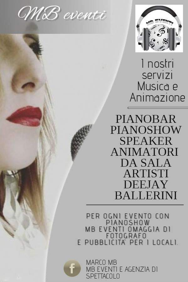 Pianobar, DJ, pianoshow, gruppo musicale Musica Matrimonio