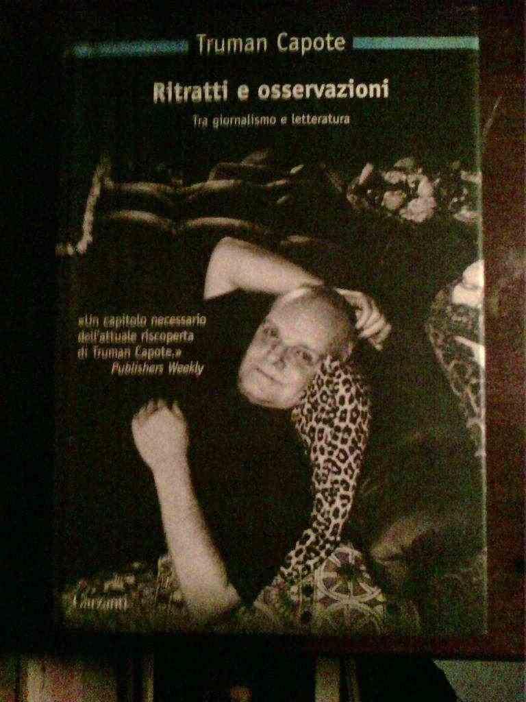 Truman Capote - Ritratti e osservazioni