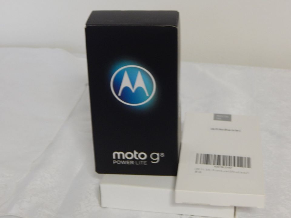 Moto G8 Power Lite - 4GB/64GB - Royal Blue