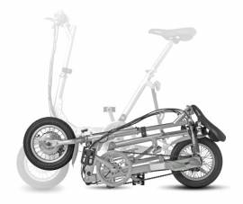 Cercasi bici elettrica pieghevole Egolite Tag verde