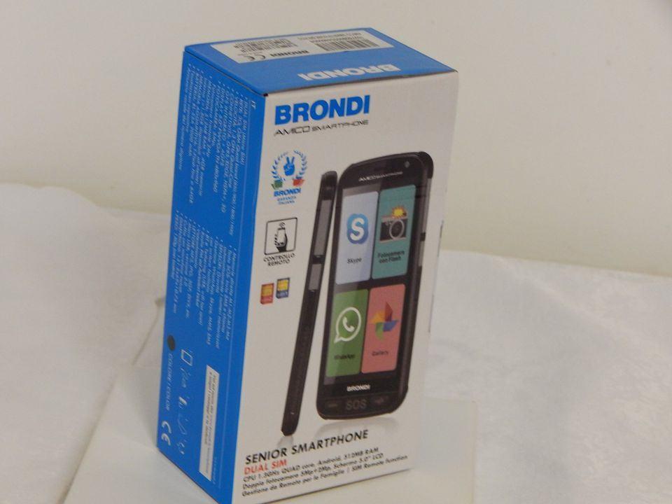 Brondi Amico Smartphone - smartphone per anziani