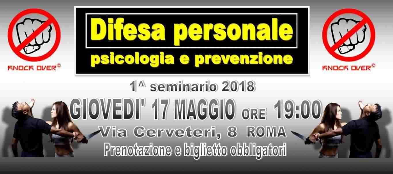 Seminario Difesa Personale - psicologia e prevenzione
