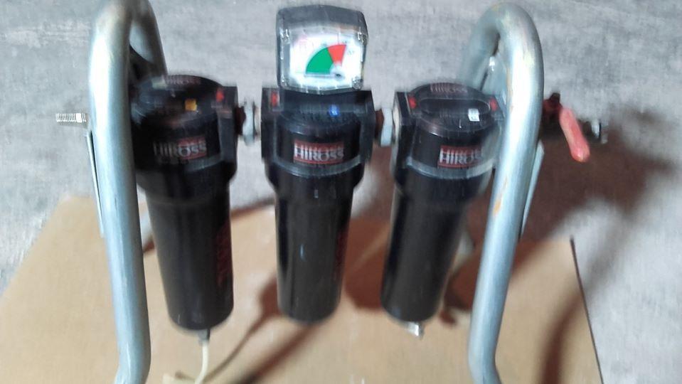 HIROSS PARKER - Sistema mobile di Filtraggio Aria Compressa