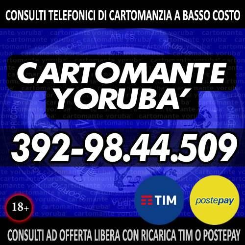 Consulto di Cartomanzia a offerta libera - 30 minuti di tempo per 1 consulto - Cartomante Yoruba
