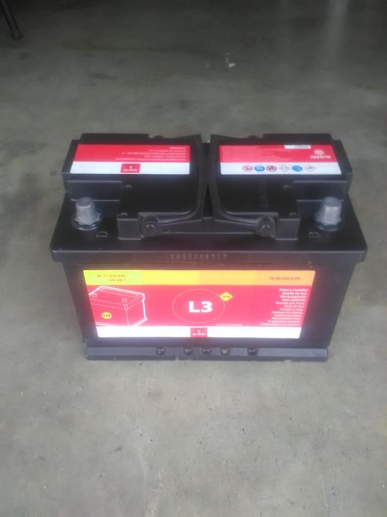 batteria 70 AH 620 A