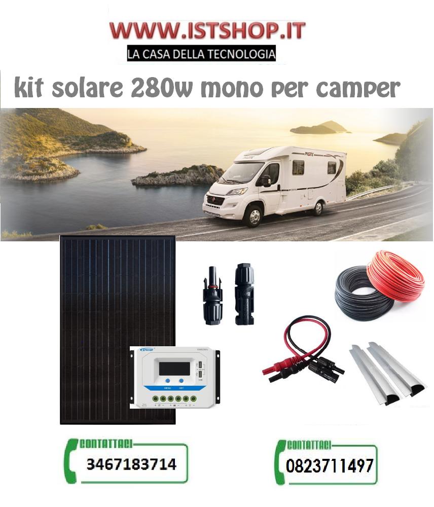Pannello Fotovoltaico 280W monocristallino