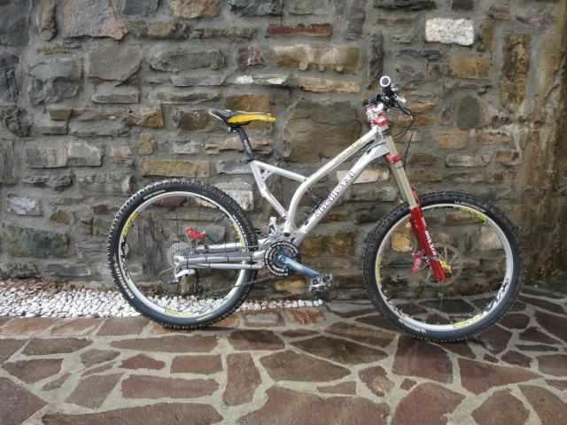 Bicicletta MTB Freeride ANCILLOTTI TOMASO FRP