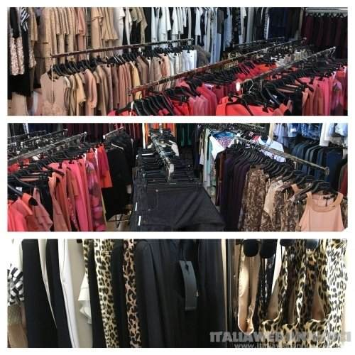 stock abbigliamento donna Firmato Elisabetta franchi e altri brand