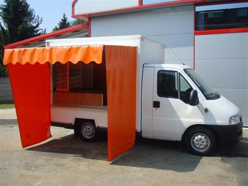 Camion ambulant FIAT DUCATO