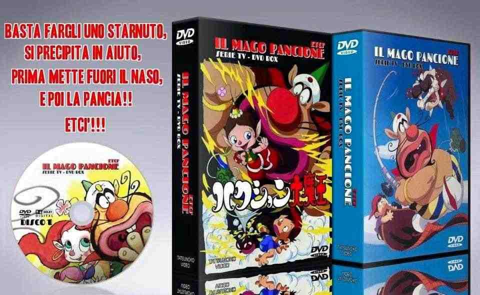 Il Mago Pancione serie completa in 13 dvd