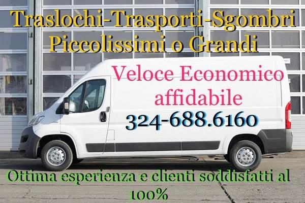 Trasporti-Traslochi-Sgombri