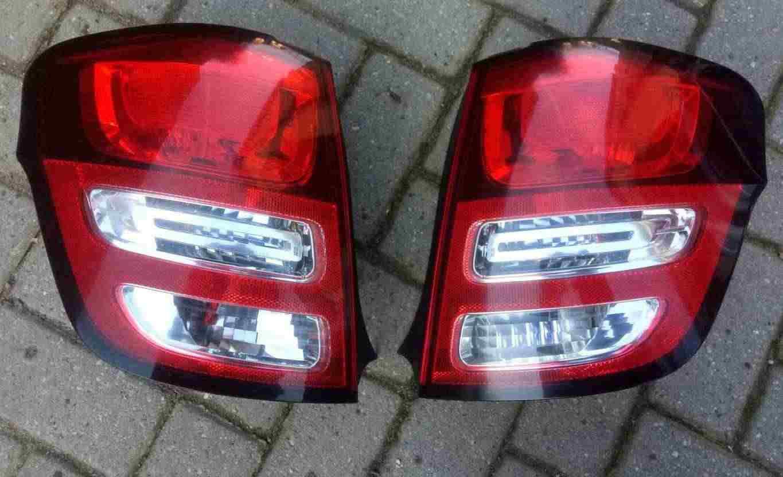 Fanale / faro posteriore Citroen C3 anno 2011