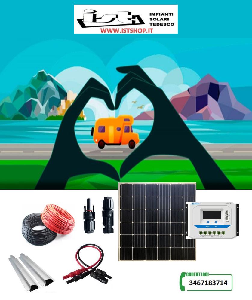 Pannello Fotovoltaico 185W Monocristallino