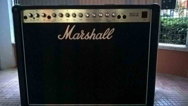 Marshall 5213 MOS-FET 100 Reverb Twin 1986 Black