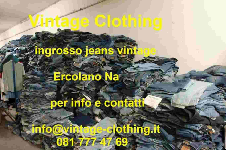 Stock jeans Levis vintage sacchi da 50kg remake custom
