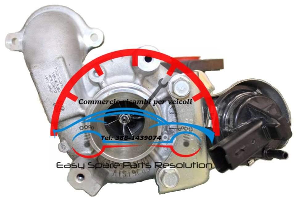 Turbina Citroen Berlingo III 1.6 Blue HDi 9804945280