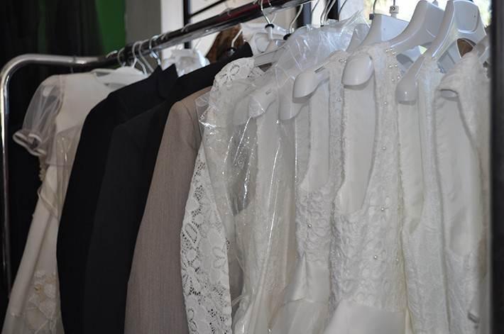 blocco abiti da cerimonia da fallimento boutique