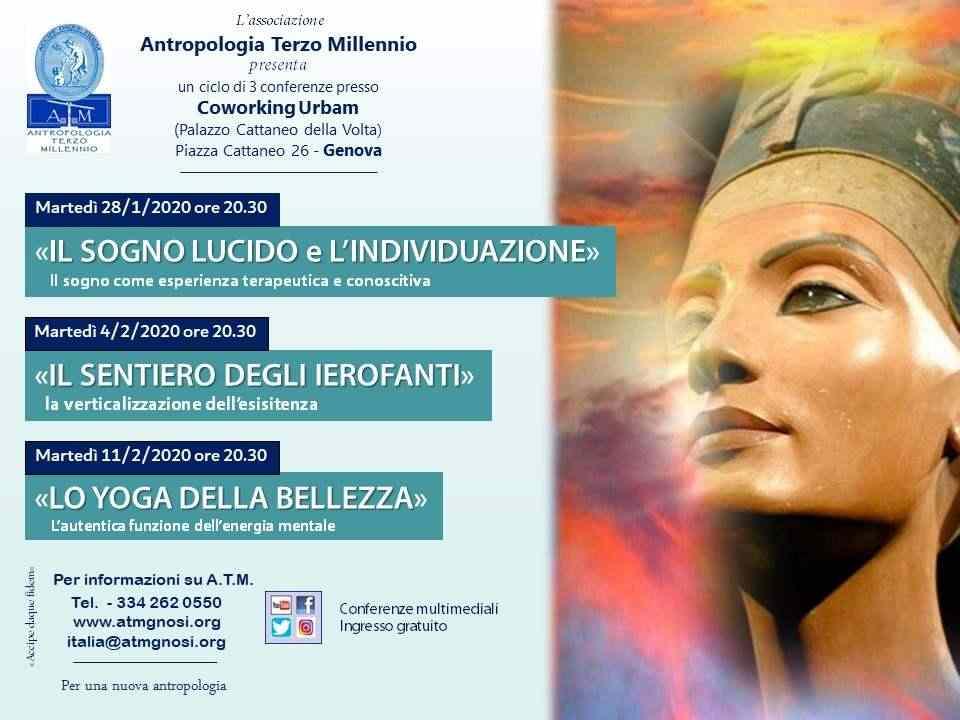 """&quotIl Sogno Lucido e l'Individuazione"""" (ciclo di conferenze a Genova)"""