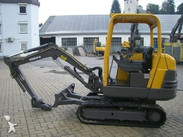 Mini escavatore Volvo EC 25 Mini escavatore Volvo EC 25