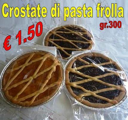 Crostate di Pasta frolla